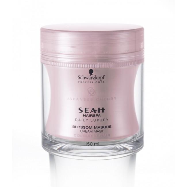 SEAH Masque Crème cheveux colorés Blossom