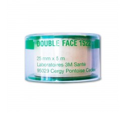 Ruban adhésif 3M Santé Double Face (25 mm X 5m) Complément capillaire