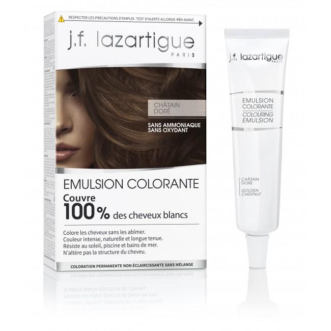 Emulsion Colorante Châtain Doré j.f lazartigue